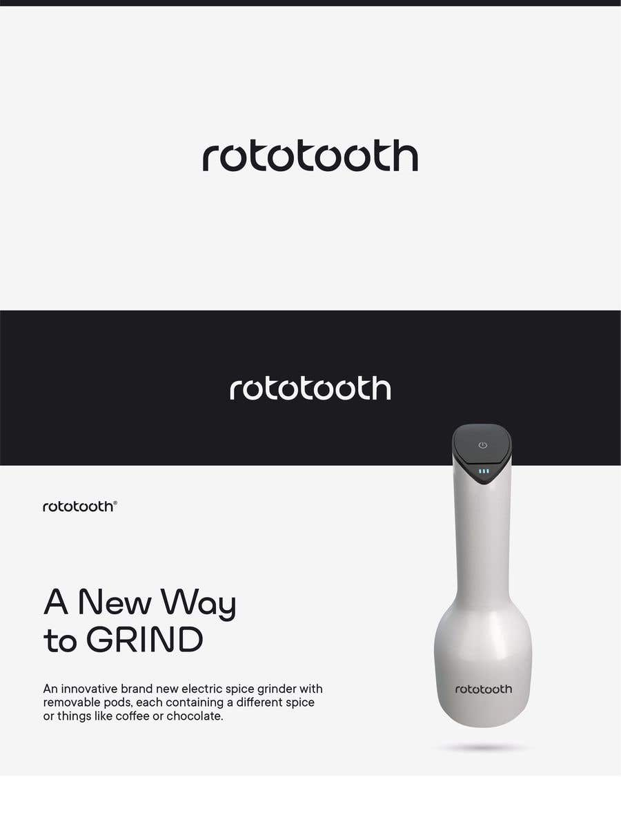 Proposition n°160 du concours Design a Modern Logo for my Product Rototooth