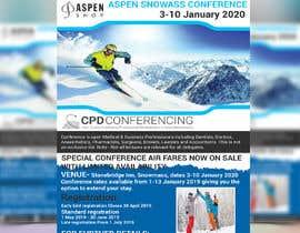 nº 43 pour Ski Conference Flyer par sujonyahoo007