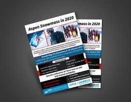 nº 46 pour Ski Conference Flyer par Almas999
