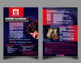 #72 for A4 brochure for performing arts school by Mubasshirin