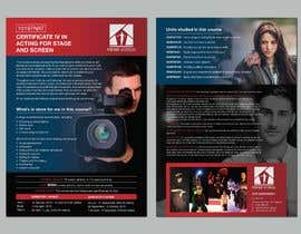 #85 for A4 brochure for performing arts school by ferisusanty