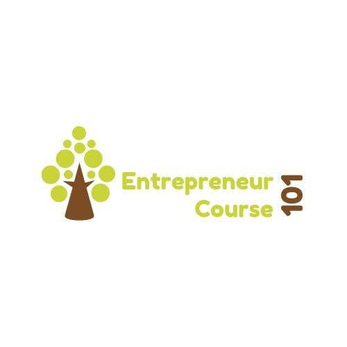 """Inscrição nº 21 do Concurso para Logo Design For """"Entrepreneur Course 101"""""""
