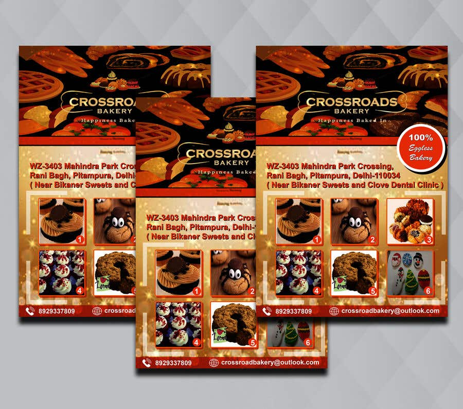 Конкурсная заявка №23 для Need a flyer for a new opening of a Bakery outlet