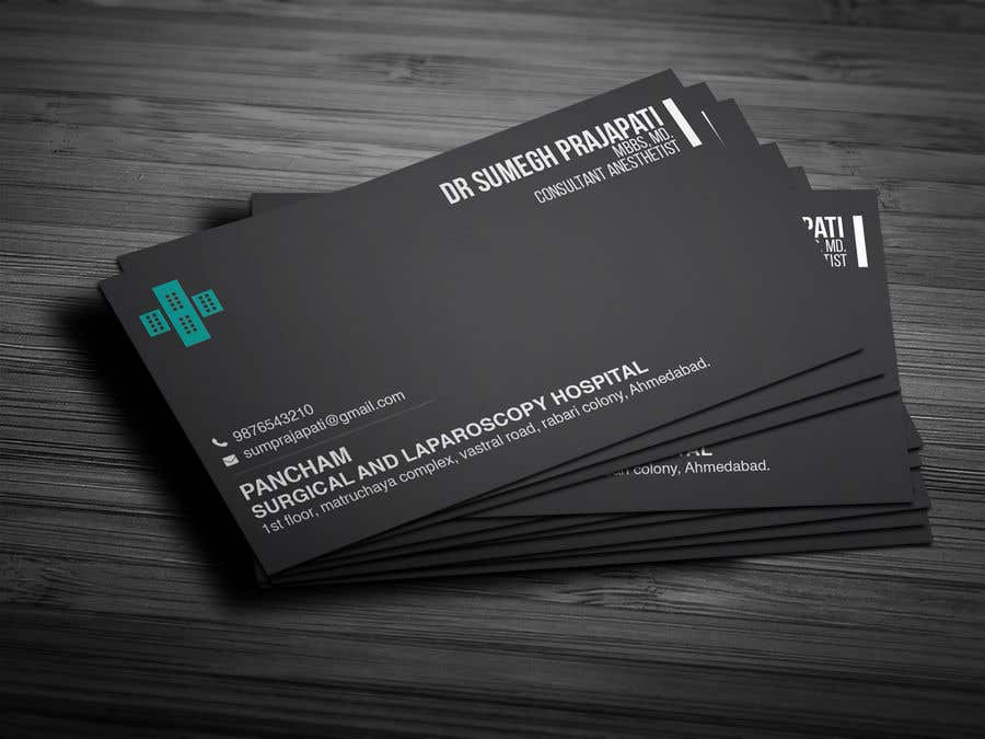 Proposition n°102 du concours Bussiness Card Design (Medical)