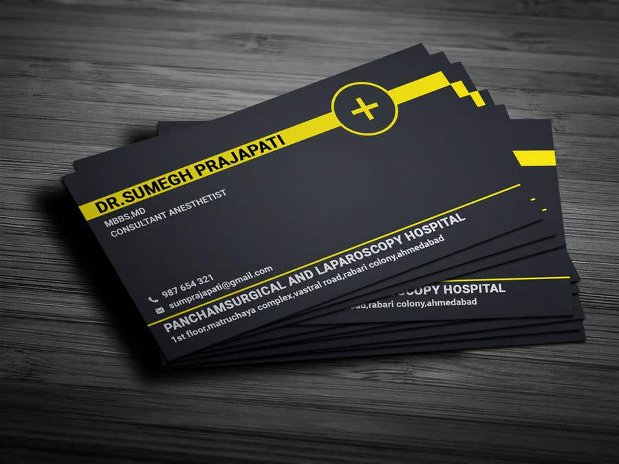 Proposition n°171 du concours Bussiness Card Design (Medical)
