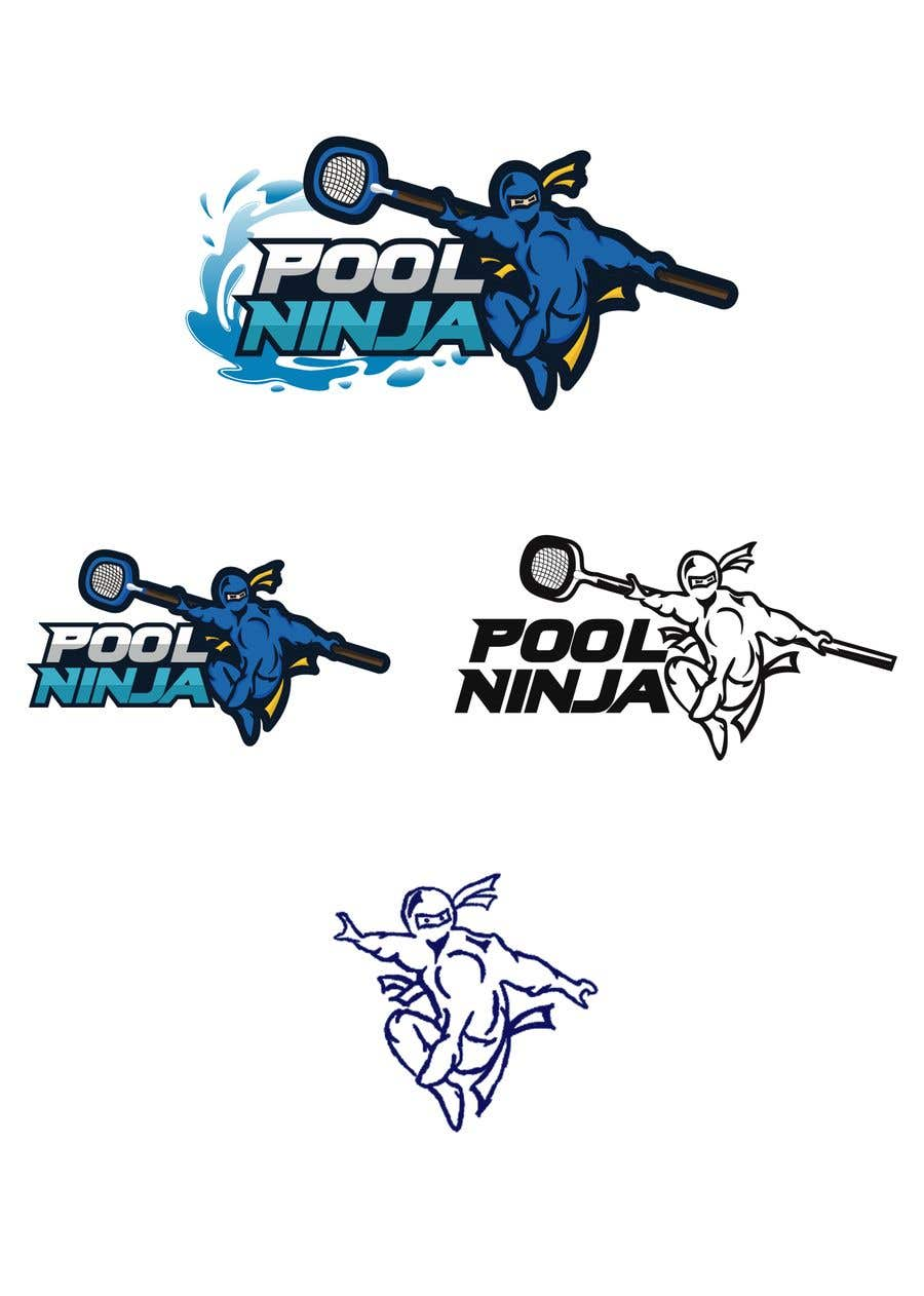 Contest Entry #47 for Design a Business logo - Pool Ninja