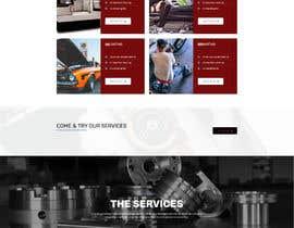nº 12 pour Wordpress website for machinery business par Nibraz098