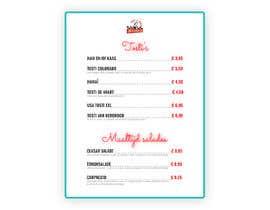 #24 for Design a menu based on the current developed website design by jahzrielborres