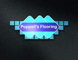 #113 for Poppell's Flooring logo by sk01741740555