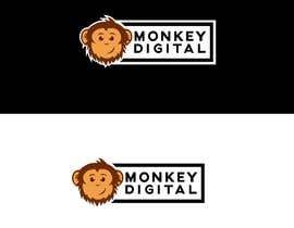 #60 untuk Create a logo for Monkey Digital oleh MDavidM