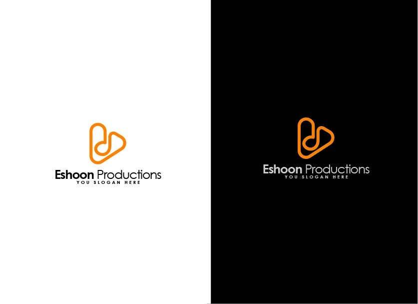 "Penyertaan Peraduan #40 untuk I need a logo designed. ""Eshoon Productions "" Details ( Music , Entertainment & Event planning Company )"