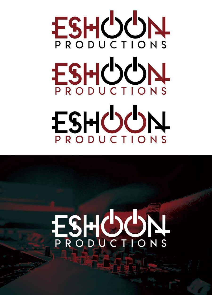 "Penyertaan Peraduan #32 untuk I need a logo designed. ""Eshoon Productions "" Details ( Music , Entertainment & Event planning Company )"
