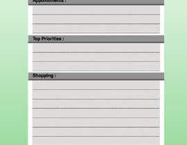 #6 untuk design a Print Ready DL size Daily Planner oleh pjanu
