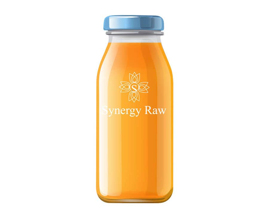 Penyertaan Peraduan #123 untuk Design of a logo and label for a juice bottle / company
