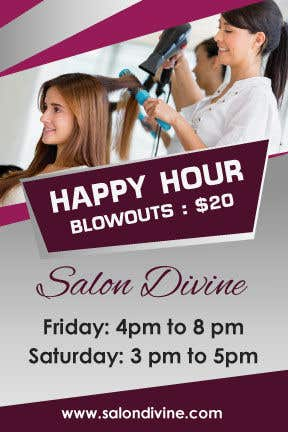 Contest Entry #10 for marketing materials for salon