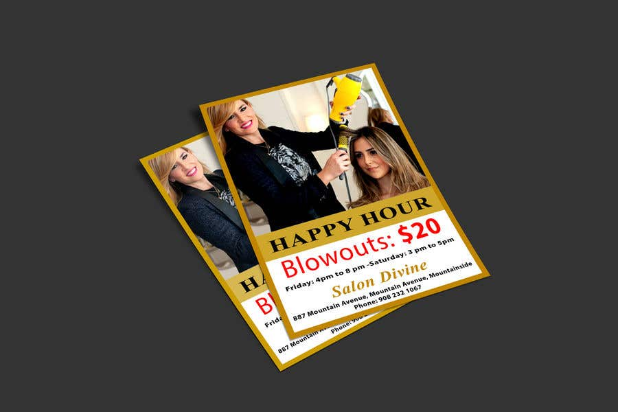 Contest Entry #14 for marketing materials for salon