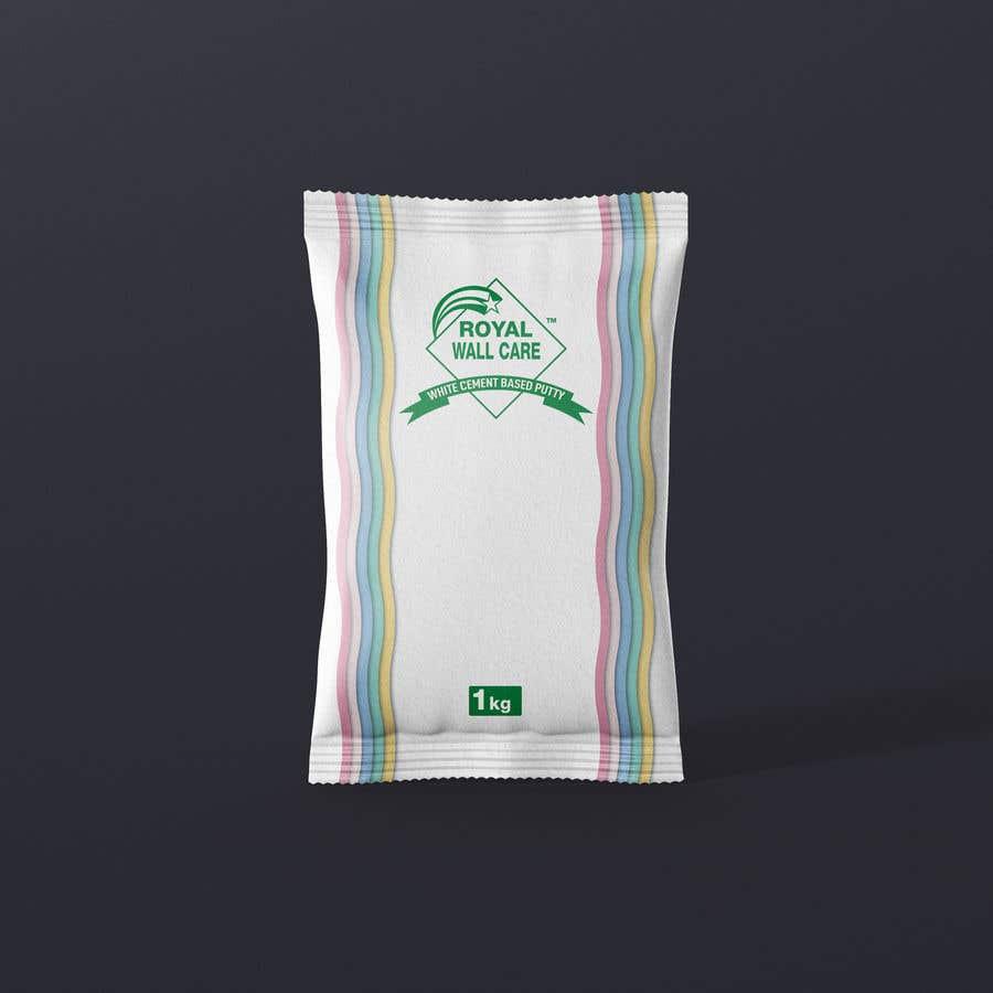 Penyertaan Peraduan #33 untuk Design a creative packing cover for Wall care putty