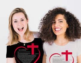 #32 for John 15:18-27 T-shirt design by JohnDigiTech
