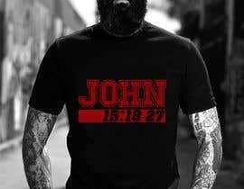 #27 for John 15:18-27 T-shirt design by Rezaulkarimh