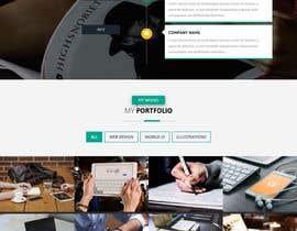 Nro 90 kilpailuun Dark design for personal website käyttäjältä jahangir505