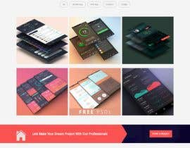 #82 for Dark design for personal website by mohamadhendy