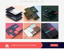 Nro 82 kilpailuun Dark design for personal website käyttäjältä mohamadhendy