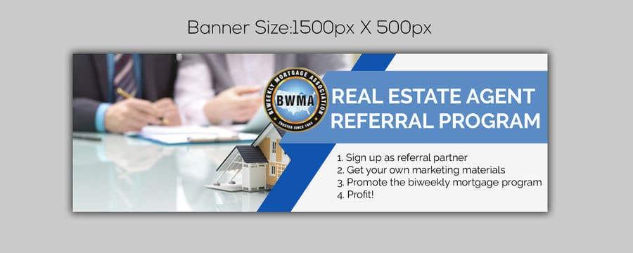 "Kilpailutyö #2 kilpailussa Need website banner for ""Real Estate Agent Referral Program"""