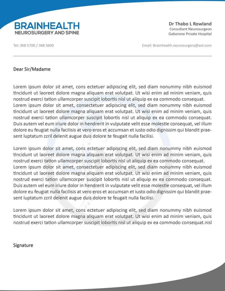 Proposition n°23 du concours letterhead design