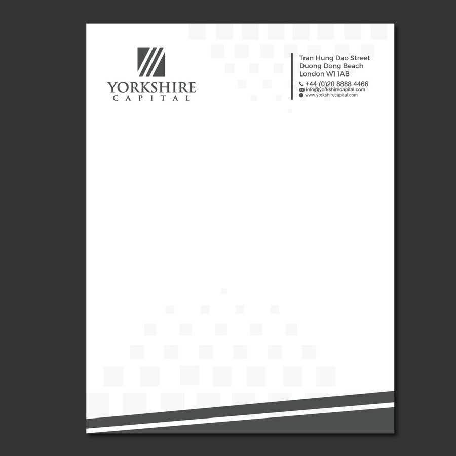 Konkurrenceindlæg #241 for Design a letterhead