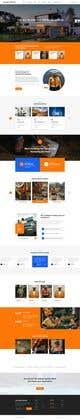 Konkurrenceindlæg #44 billede for Design a new homepage for a construction company.