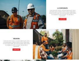 safiur925 tarafından Design a new homepage for a construction company. için no 30