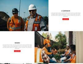 #31 for Design a new homepage for a construction company. af safiur925