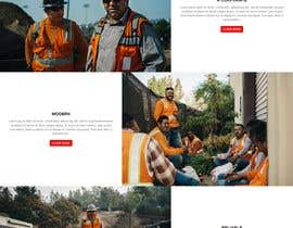 #32 for Design a new homepage for a construction company. af safiur925