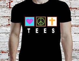 alyeasha2020 tarafından Simple logo for a T-shirt business. Love Hope and Faith Tees için no 64