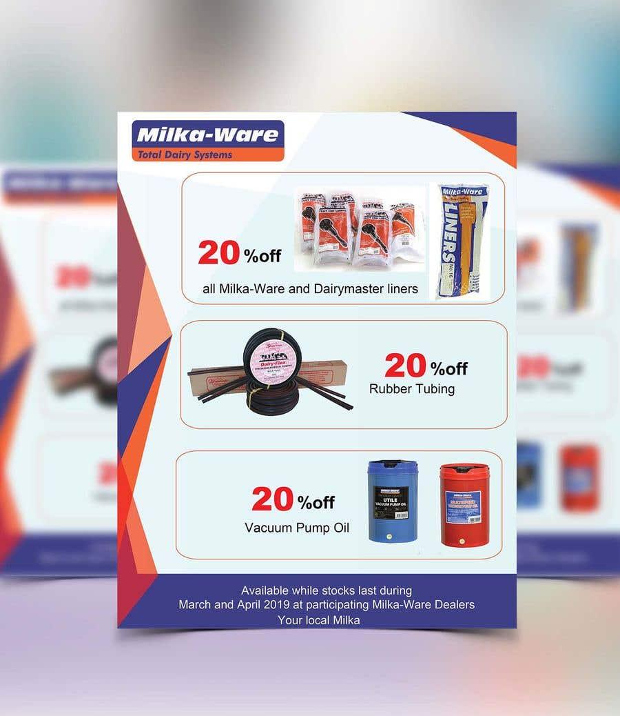 """Intrarea #38 pentru concursul """"2019 consumables promotion printed flyer"""""""