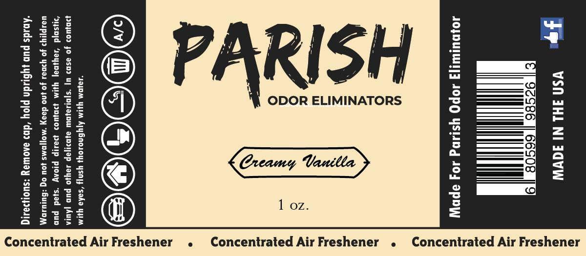 Penyertaan Peraduan #28 untuk new fresh air label design