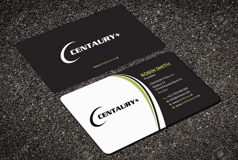 Kilpailutyö #106 kilpailussa Business card design