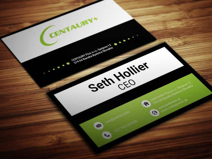 Konkurrenceindlæg #260 for Business card design