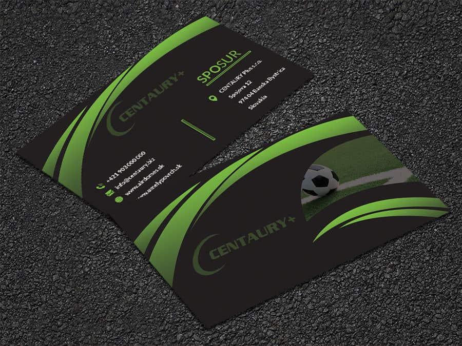 Kilpailutyö #267 kilpailussa Business card design