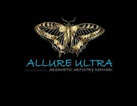 Nro 20 kilpailuun upscale beauty comp. love butterfly and Allure Ultra font but thicker/bold.would like the A and U in Allure Ultra to be elegant cursive font.slogan's font to be an elegant/easy to read font.colors royal blue and gold.more space between sloganandcomp name käyttäjältä eclipssazzad11