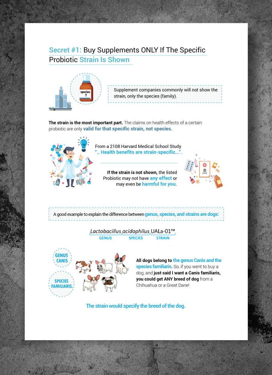 "Intrarea #19 pentru concursul ""1 page Infographic project with potential future 11 pages"""