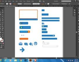 #7 for Design Some Icons and Buttons for Website by mekhan689