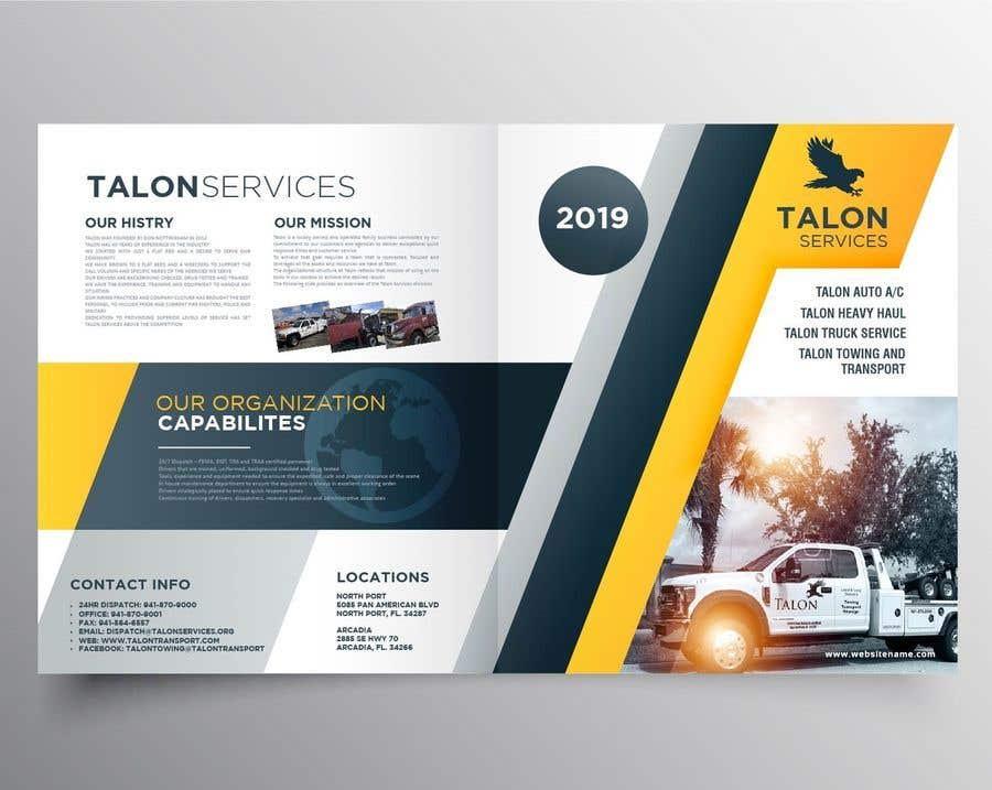 Penyertaan Peraduan #14 untuk 6 page business brochure/report design