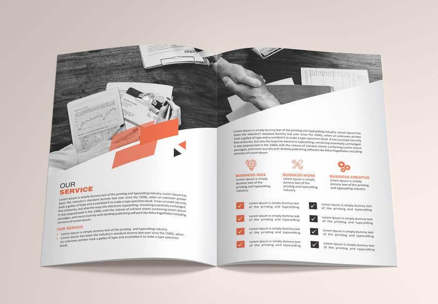 Penyertaan Peraduan #12 untuk 6 page business brochure/report design