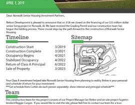 #35 para Design Investor Report in Word from Current Old Version por arigo60