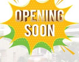 #7 untuk Opening Soon oleh piashm3085