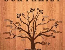 Nro 31 kilpailuun Design me a family tree käyttäjältä AsterAran28