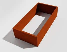 #2 para Blender template for rendering planters of corten steel por rosales3d