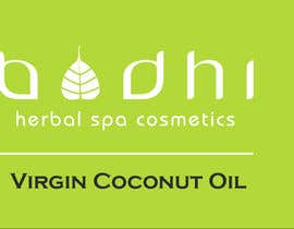 #6 para Virgin Coconut Oil label design por erickaeunicewebb
