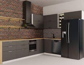 #16 for Modern kitchen design, with elements of loft style. by GagiLupic